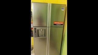 холодильник HITACHI R-W660PUC3INX side-by-side - многодверный инверторный холодильник Хитачи