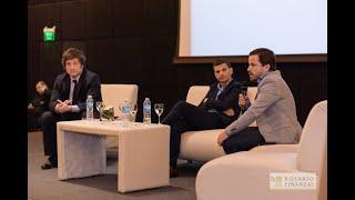 26/10/17 #Einros17 Javier Milei y Martín Tetaz