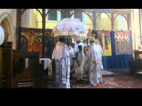 EOTC - Tserha Tsion St Mary UK - Fasika/Easter Holy Liturgy/Kidase English/Geez 2016