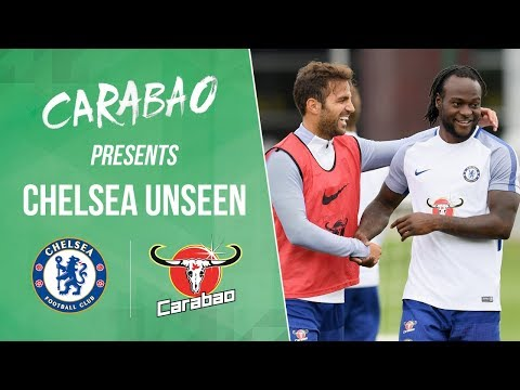 Cesc Fabregas Dancing & Victor Moses Gets Picked On   Chelsea Unseen