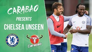 Cesc Fabregas Dancing & Victor Moses Gets Picked On | Chelsea Unseen