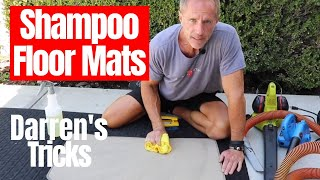 Clean Car Floor Mats: Darren's floor mat cleaning hacks