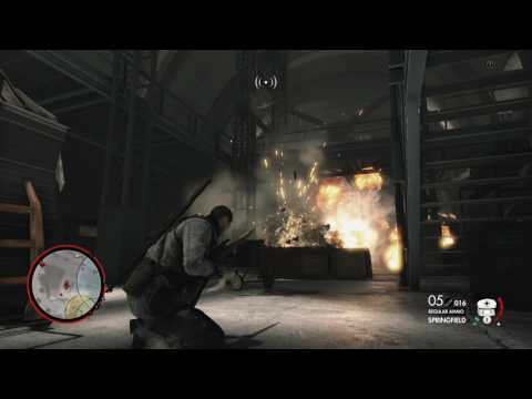 Sniper Elite 4 - Mission 8: Rocket Science: Found Missile Technical Specs Misc Document Gameplay