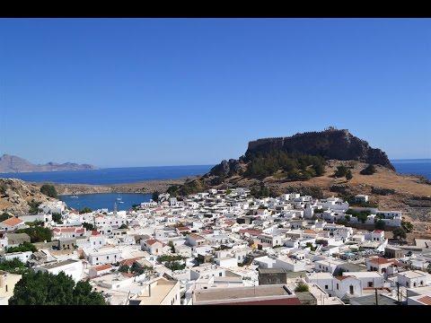 Rhodes Island Greece, wyspa Rodos, Rhodos Lindos HD