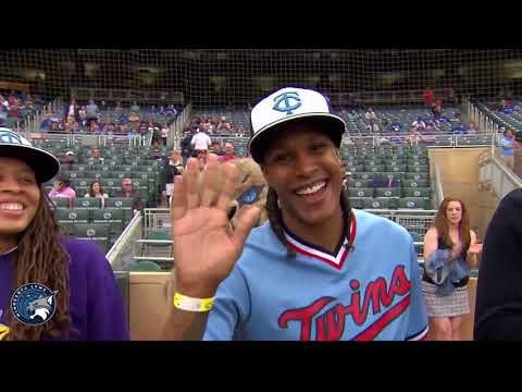 Minnesota Lynx: Lynx Night Presentation at Twins Game