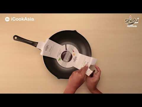 UNBOXING: SHEFU 28cm Aluminium Wok | Kuali Aluminium 28cm | iCookAsia Shop