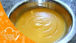 Crema de Yema para Tartas y Pasteles