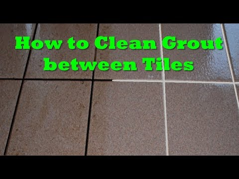 Cleaning Tip How To Clean Tile Grout Easy Best Way Naturally
