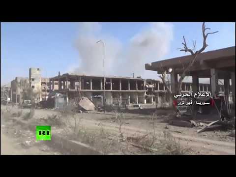 Devastated by ISIS: Recaptured Deir ez-Zor lies in runs