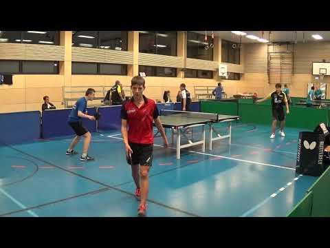 Warm Up Hoermann Hegenberger Golavsec Stumpf   Oberliga Bayern Tischtennis  TV Hilpoltstein II   201