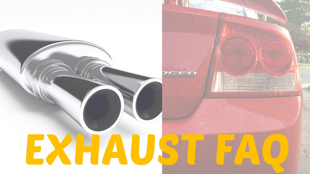 How To Make Your Exhaust Sound Sick 2006 10 Dodge Charger 2005 300c Hemi Engine Diagram Faq