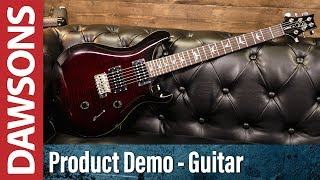 PRS SE Custom 24 Fire Red Burst Review