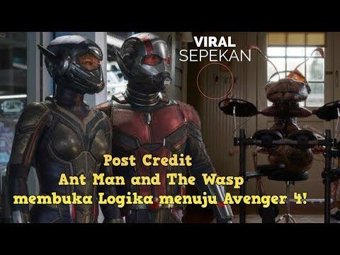 Penjelasan dari Adegan Post-credit Ant-Man and The Wasp yang Misterius! (SPOILER)