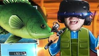 ЗЛОВИВ ЖИРНУ РИБУ! - Catch and Release VR - HTC Vive ВІРТУАЛЬНА РЕАЛЬНІСТЬ