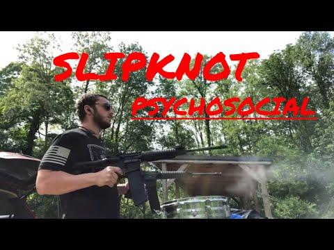PSYCHOSOCIAL Gun Cover - Slipknot #Slipknot #psychosocial
