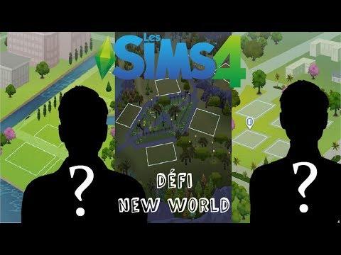 [Sims 4] Défi New World, je crée votre famille, maison et monde !!!