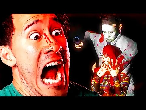 RETURN TO MURDER MANSION!! | Power Drill Massacre
