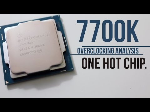 Intel I7 7700k Overclocking Analysis