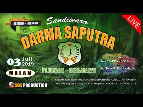 Baixar LIVE Streaming Sandiwara Darma Saputra I Edisi Malam 3 Juli 2019 I Telukagung Indramayu
