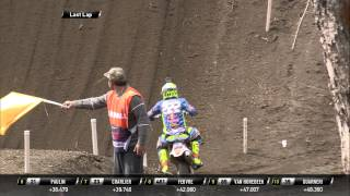 Antonio Cairoli crash MXGP of Patagonia Argentina 2015 - motocross