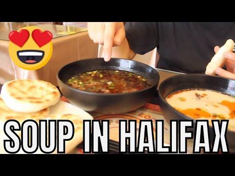 Halifax, Nova Scotia Food   Eating Chinese Soup on Quinpool Road (Halifax Restaurants)