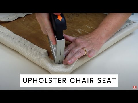 how-to-re-upholster-a-chair-seat