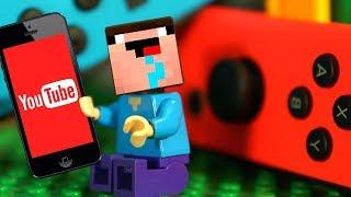 Лего Нубик Майнкрафт Смешные Мультики Все Серии Подряд Мультфильмы для Детей СБОРНИК