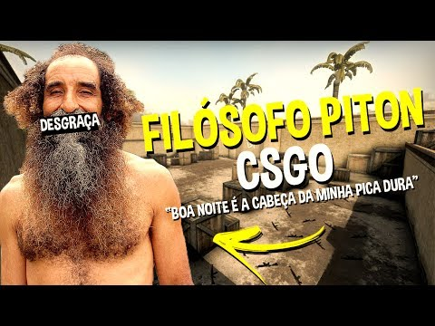 FILÓSOFO PITON JOGANDO CS:GO 2
