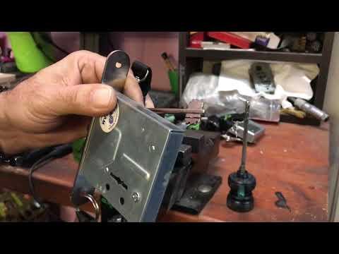 Взлом отмычками    Сам - вскрытие на сувальдной модель 4+4 Lucky Decoder Automatic
