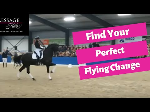How To Correct Rushing In The Flying Change With Patrik Kittel