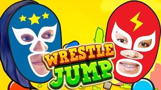 DESAFIO DE LUTADORES !!! - WRESTLE JUMP