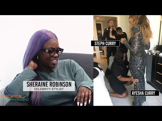 Steph & Ayesha Curry's Stylist - Sheraine Robinson (CEE Chat Toronto)