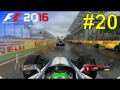 F1 2016 - Let's Make Massa World Champion #20 - 100% Race 'Brazil'