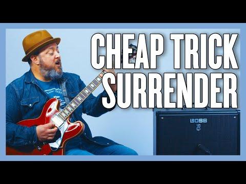 Cheap Trick Surrender Guitar Lesson + Tutorial