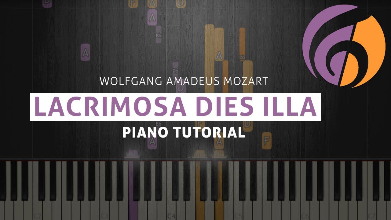 Mozart: lacrimosa sheet music download free in pdf or midi.