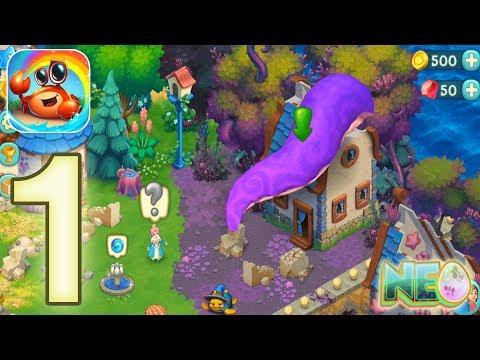Decurse: Gameplay Walkthrough Part 1 - The Magical Island (iOS, Android)