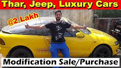 Jeep Thar Luxury Cars Custom Modified Vehicle Market   Vintage Sira @ 2 Lakh   Cars In Cheap Price..