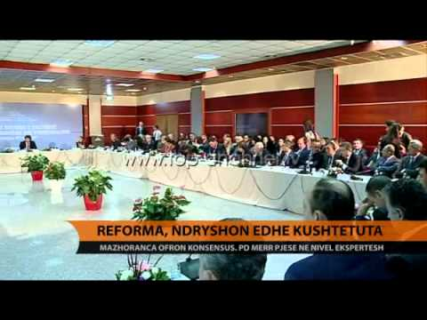 Reforma, ndryshon edhe Kushtetuta - Top Channel Albania - News - Lajme