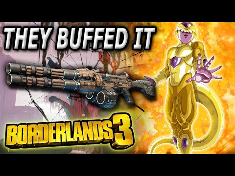 Gearbox buffed my Favorite Assault Rifle in Borderlands...  