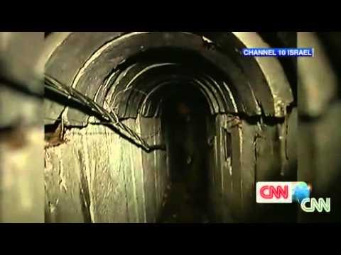 Inside the 'terror tunnel' found in Gaza