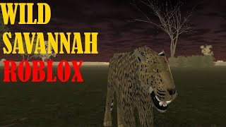 ROBLOX WILD SAVANNAH #2 LEOPARDO