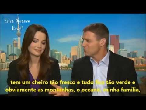 Erica Durance and Michael Shanks Interview 'Saving Hope' season 4 - CTV Morning Live [LEGENDADO]