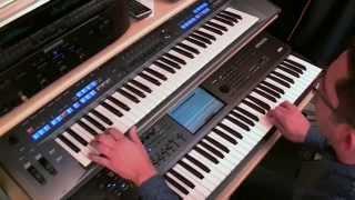 TYROS 5 : MEDLEY LATIN - (NEW AUDIO STYLES)