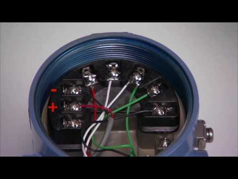 how to set up a dual sensor for the rosemount 3144p temperature transmitter  - youtube