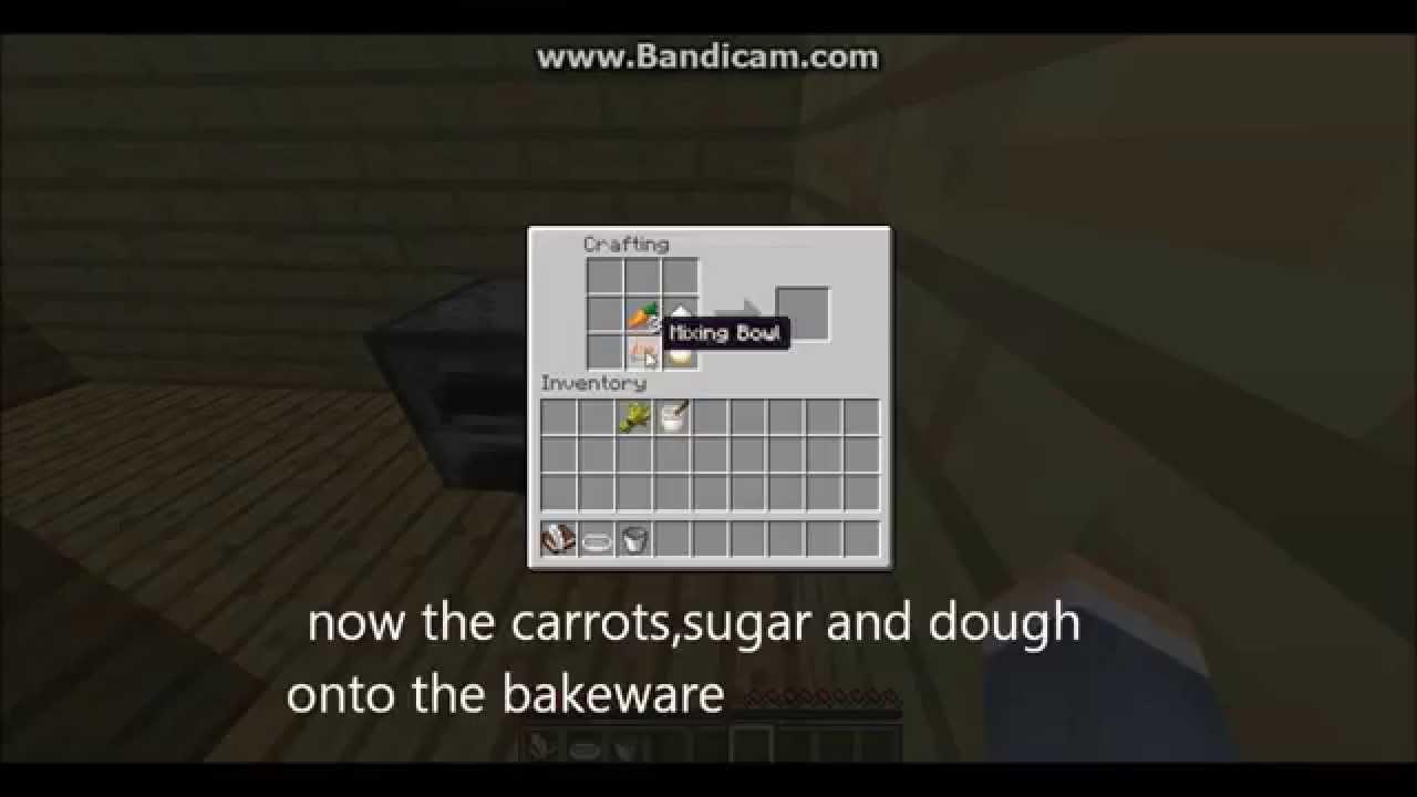 Carrot Cake Minecraft