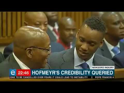 Hofmeyr can't be trusted because of his handling of the spy tapes case