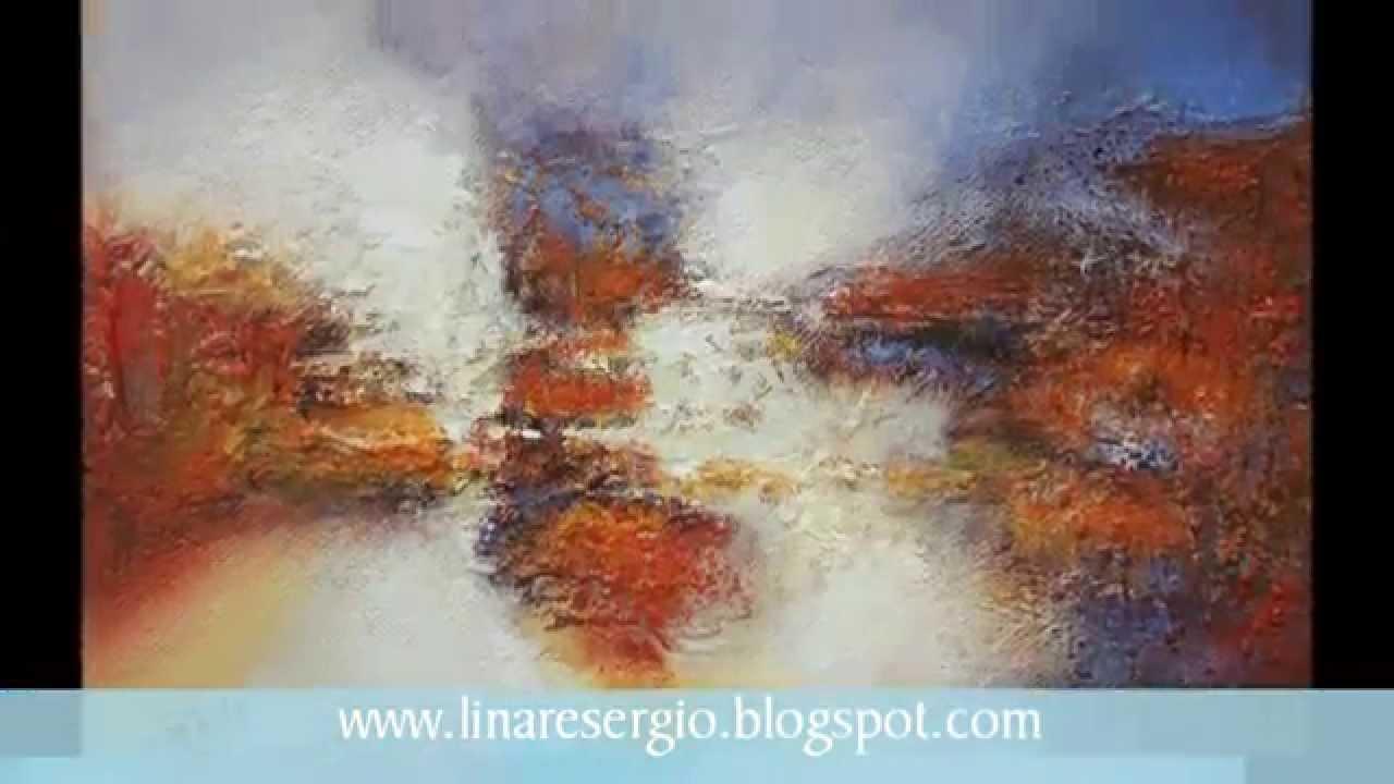 Arte Contempor Neo Pintura Abstracta Original Artista