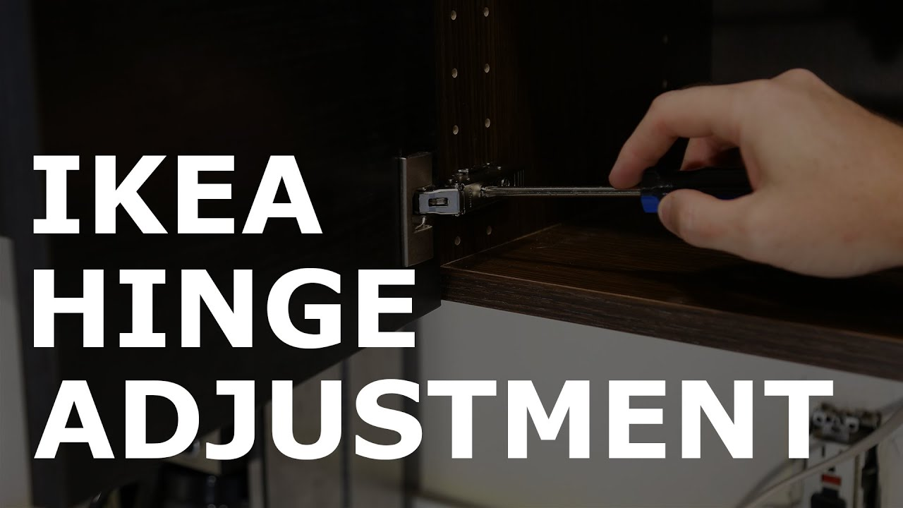 Ikea Utrusta Hinge Adjustment