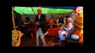 new nepali bhajan dance 2074 at pashupatinath temple kathmandu  channel gorkha