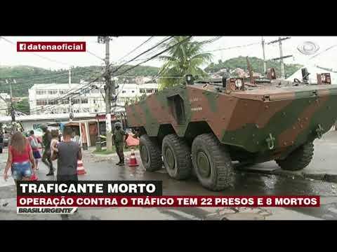 RJ: Operação Das Forças Armadas Deixa 8 Mortos